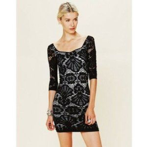 Free People Intimately Bodycon Sexy Dress XS/S